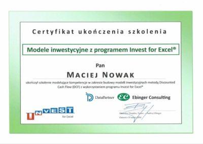 EC - Modele inwestycyjne z Invest For Excel