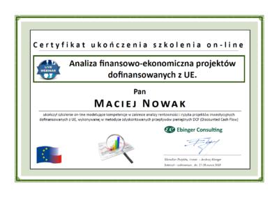 EC - Analiza finansowo-ekonomiczna projektów dofinansowanych z UE
