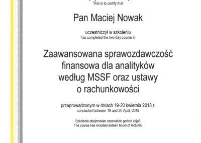 EY - Zaawansowana sprawozdawczość finansowa dla analityków