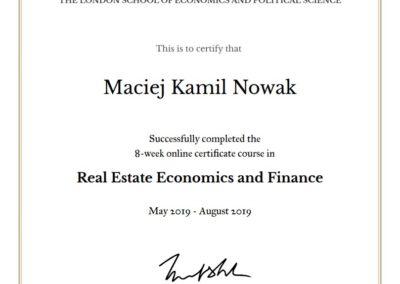 LSE - Real Estate Economics and Finance