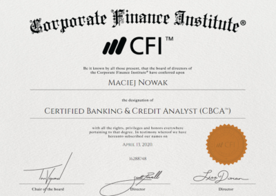 Certified Banking & Credit Analyst (CBCA)™